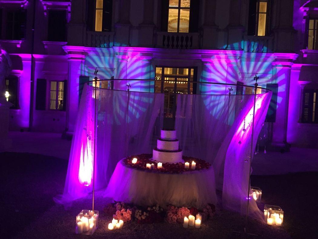 Casa della Sposa Verona. The Wedding Cake. Progetto Maria Grazia Wedding Designer