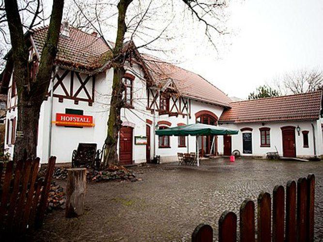 Beispiel: Innenhof, Foto: Restaurant Hofstall.