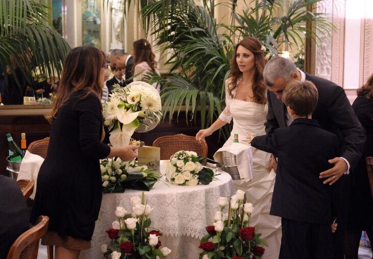 la direzione del wedding day:sempre accanto agli sposi