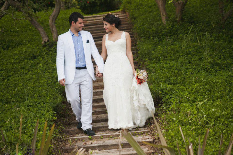 Vivenda Colonial casamento no campo