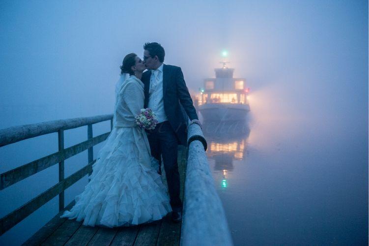 Beispiel: Innovative Hochzeitsfotografie, Foto: Birgit Roschach.
