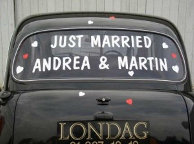 Beispiel: Das etwas andere Hochzeitsauto, Foto: Londag.