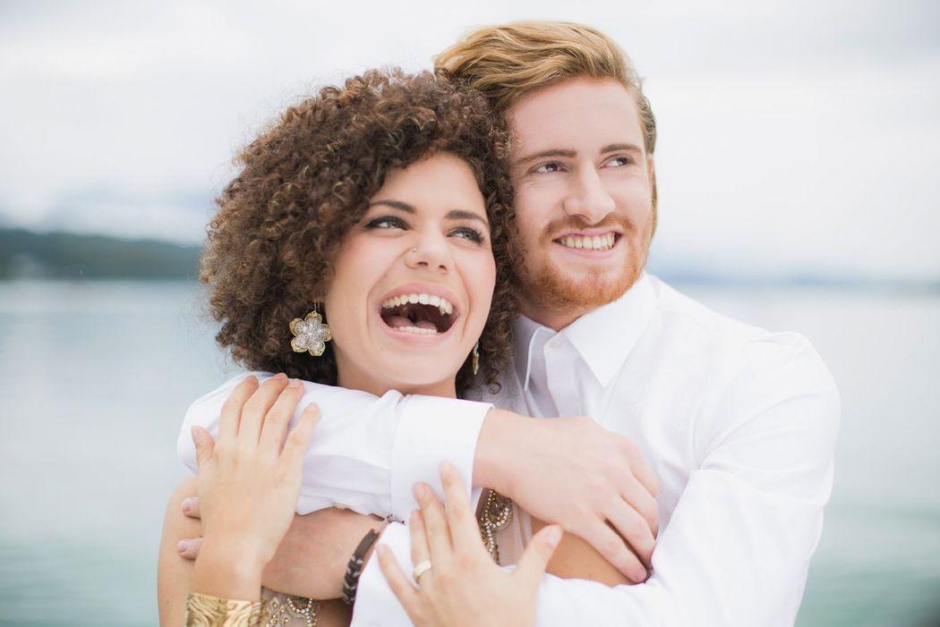 Beispiel: Braut und Bräutigam. Foto: wedding AGENCY