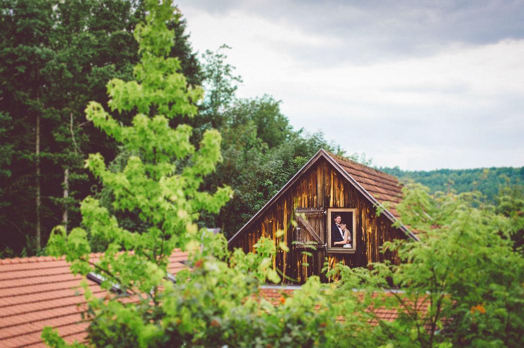 Beispiel: Originelle Hochzeitsfotos, Foto: diephotowerkstatt.