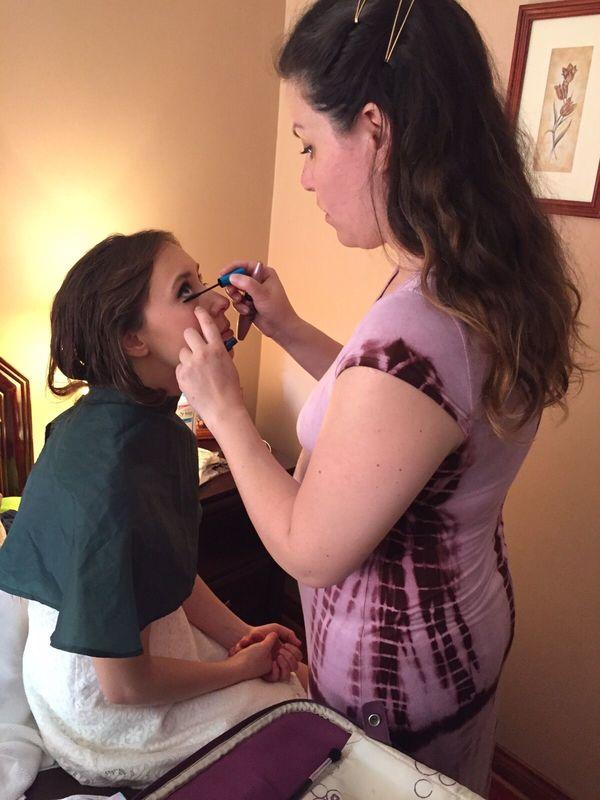 Maquillaje Clo Dehnhardt. Novia Civil (casa)