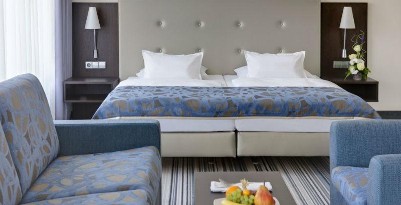 Beispiel: Zimmer Deluxe, Foto: Steinberger Esplanade.