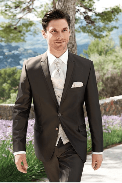 Beispiel: Der Anzug der zu Ihnen passt, Foto: Schanda Männermodewelt.