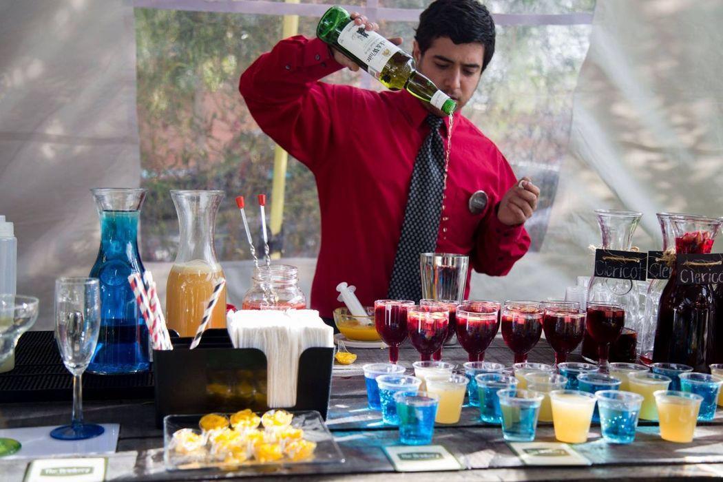 Bartenders profesionales