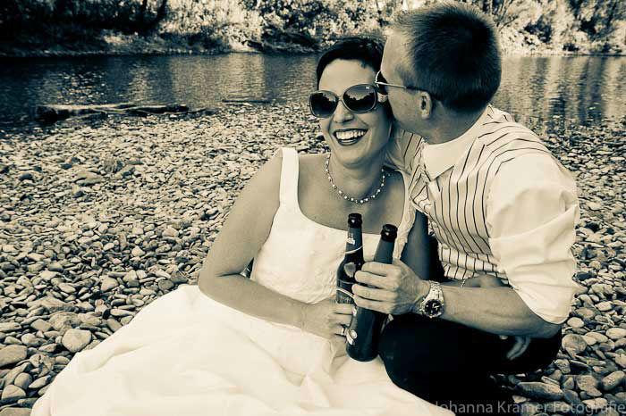 Beispiel: Fotoskunst für Ihre Hochzeitsbilder, Foto: Johanna Krämer Fotografie.