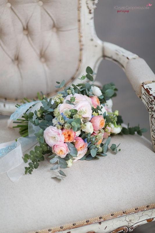Букет для утра невесты.