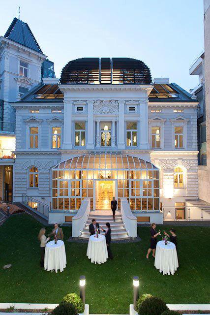Beispiel: Außenansicht, Foto: Palais Sanssouci.