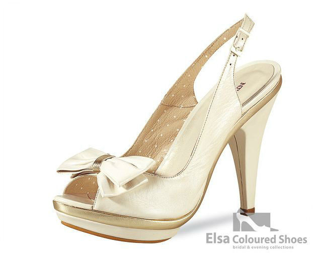 Beispiel: Brautschuh der Marke Elsa Coloured Shoes, Foto: Edelweiss Boutique.