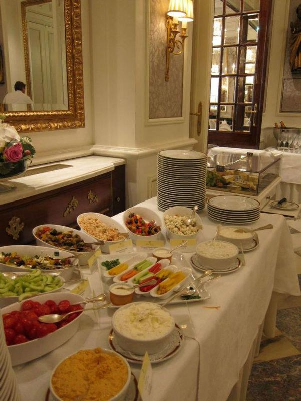 Beispiel: Catering, Foto: Hotel Sacher.