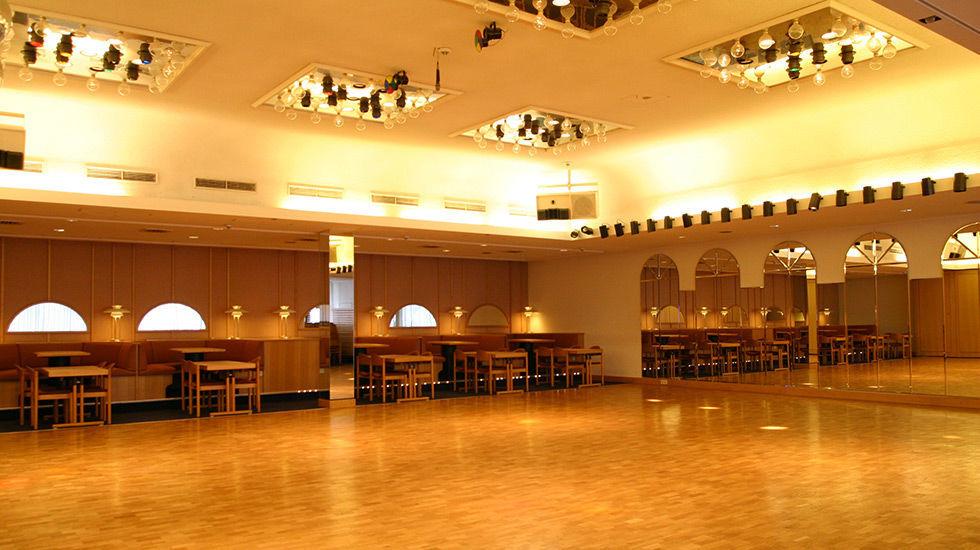 Beispiel: Tanzsaal, Foto: Hotel Rheingold.