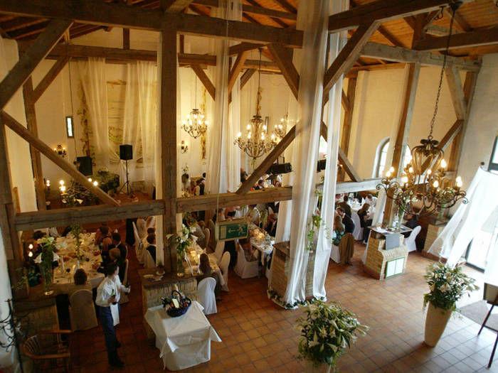 Beispiel: Festliche Weinscheune, Foto: Krongut Bornstedt.