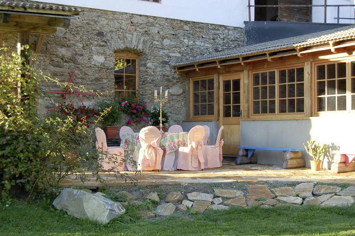 Beispiel: Terrasse, Foto: Lilli's Feststadl.