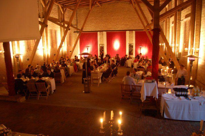 Beispiel: Festscheune, Foto: Gut Wendgräben.