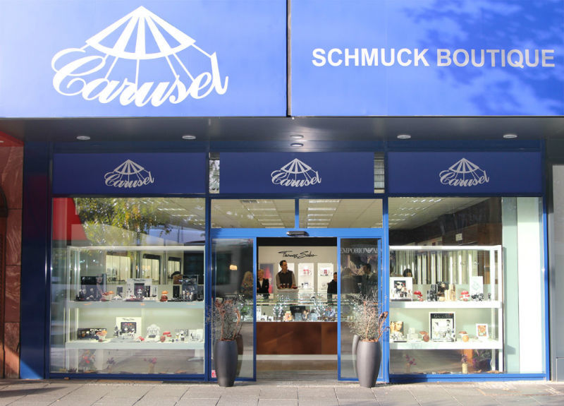 Beispiel: Außenansicht Ladengeschäft, Foto: Carusel.