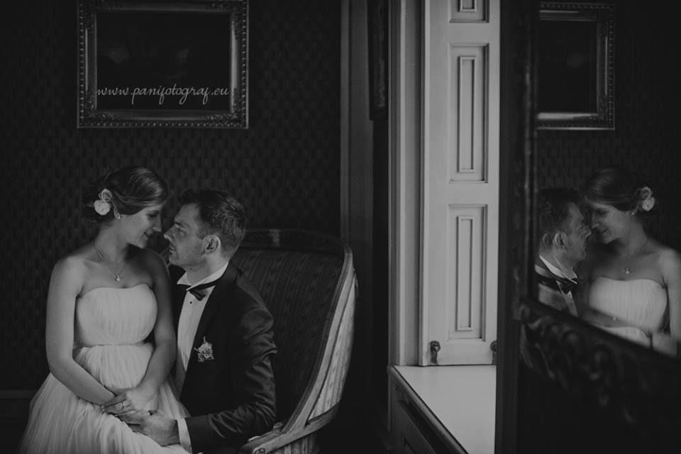 Romantyczne spojrzenie zakochanych