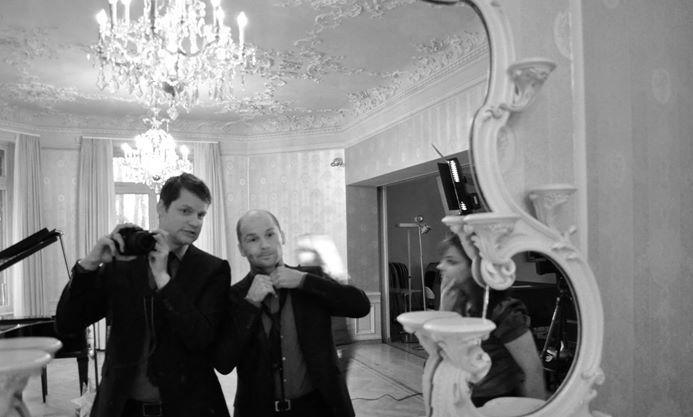 Beispiel: Das Trio am Spaßen, Foto: The Wedding Crashers.