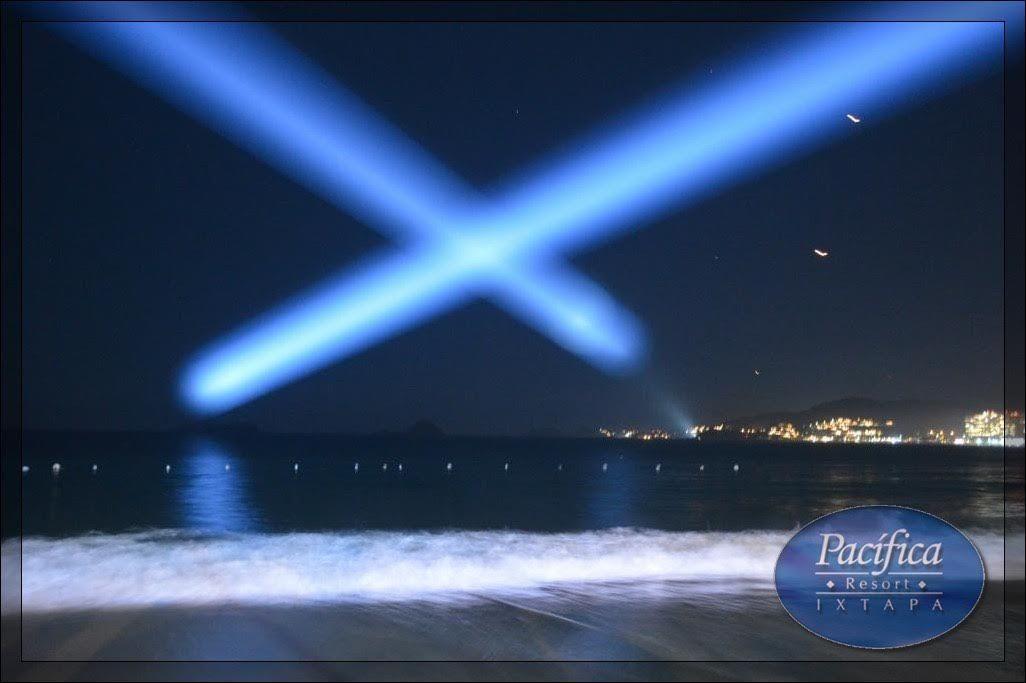 Iluminación Beam Pacífica Resort Ixtapa