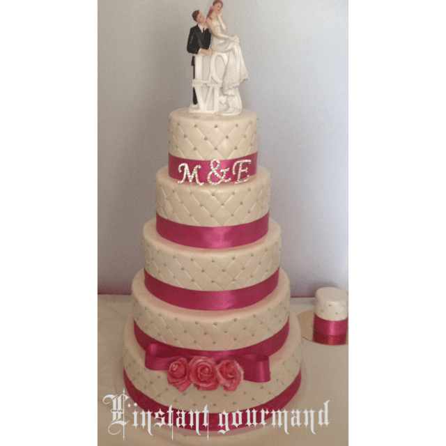 Romantique  wedding cake