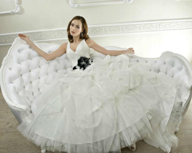 Beispiel: Ihr Traumkleid, Foto: Brautmoden Center Stefanie.