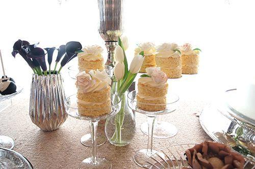 Detalhes da mesa dos doces