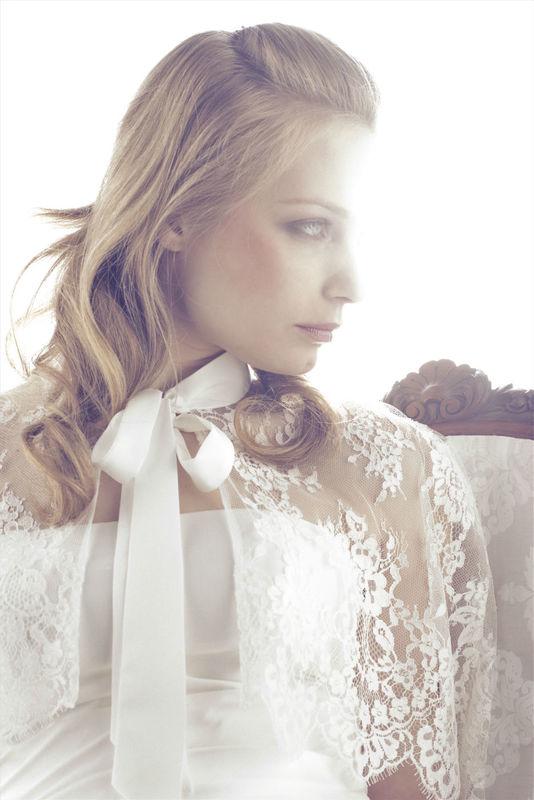Beispiel: Brautkleidkollektion 2014, Foto: Silke Scholz.