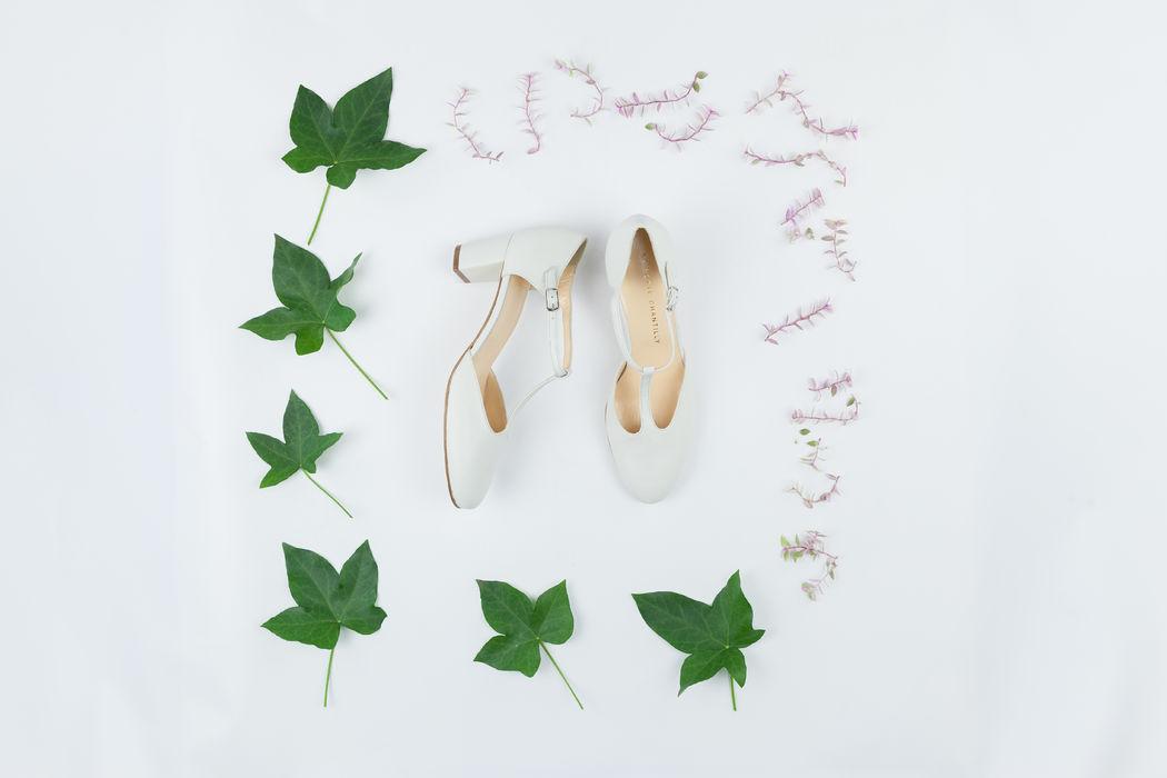 Chaussures de mariée - La Botte Chantilly