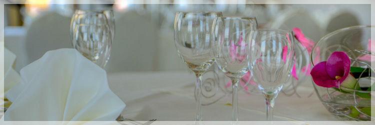 Beispiel: Tischdekoration, Foto: Altstadt-Hotel Zieglerbräu.