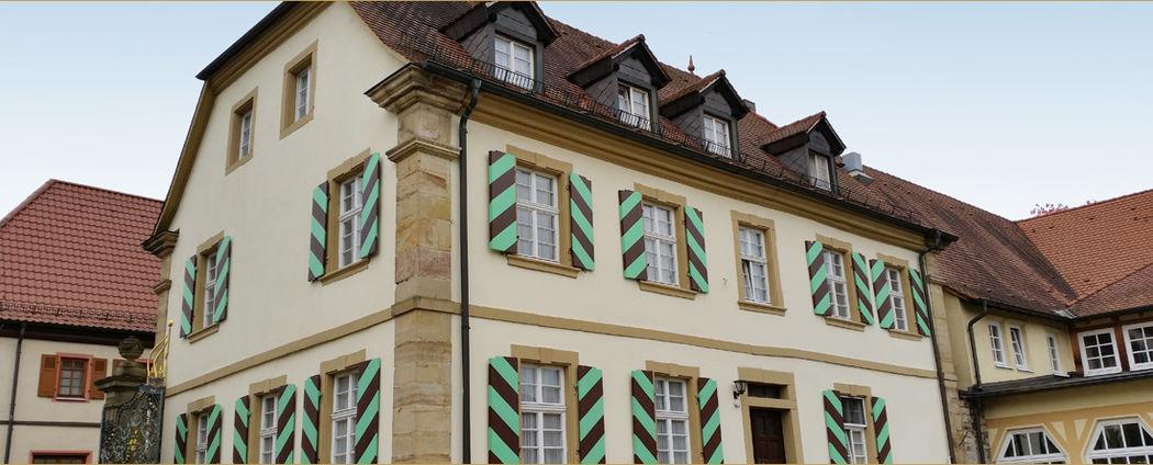 Beispiel: Aussenansicht, Foto: Landgut Schloss Michelfeld.