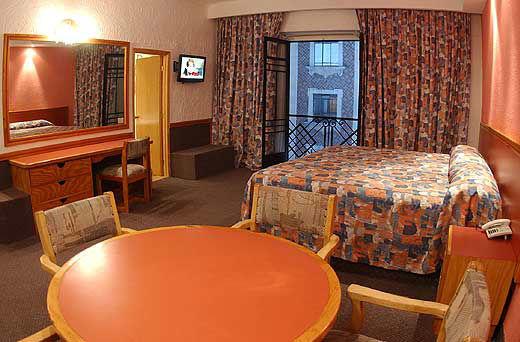 Hotel Gillow en la Ciudad de México.