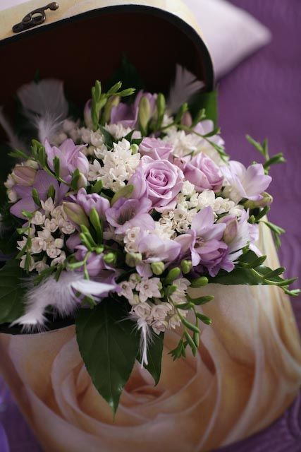 Bouquet lilla
