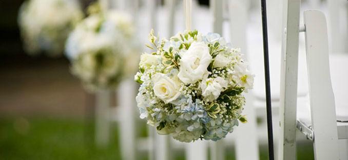 Beispiel: Hochzeitsfloristik, Foto: Nold Exclusive.