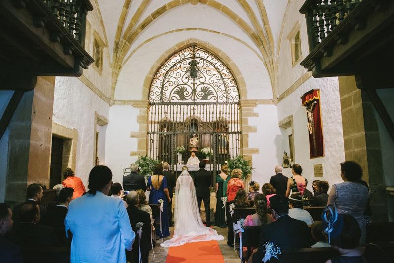 Ceremonia religiosa Palacio del Marqués de Casa Estrada