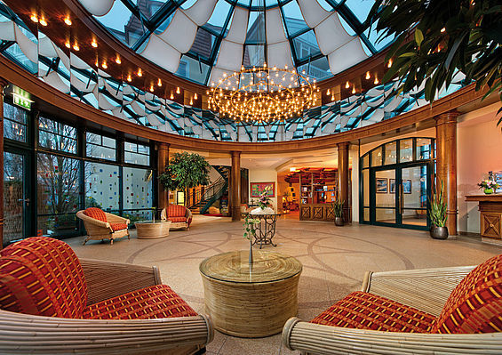 Beispiel: Lobby, Foto: Travel Charme Strandhotel Bansin.