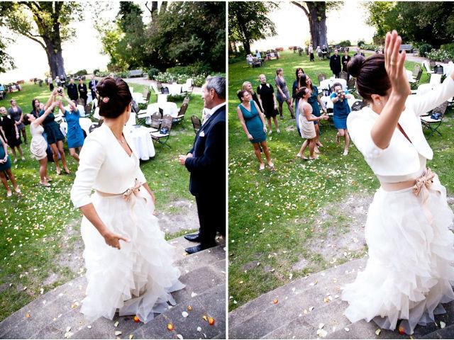 Beispiel: Brautstrauß, Foto: Gut Schloß Golm.