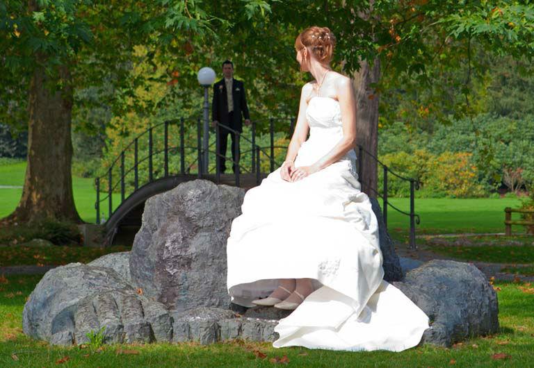 Beispiel: Hochzeitsfotografie, Foto: Wodis Photography.
