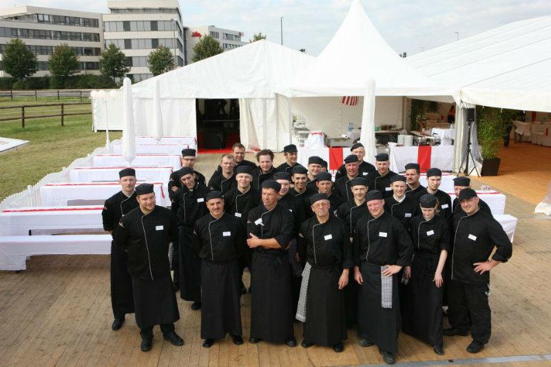 Beispiel: Team, Foto: Kreativ Catering.