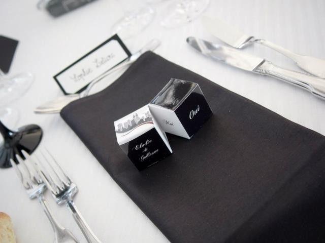 Doubles cubes - Chocolat de Mariage