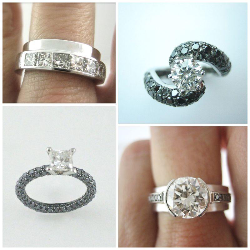 Eres más de solitario o de alianza de diamantes? No te preocupes, tendrás tu diseño a la carta!