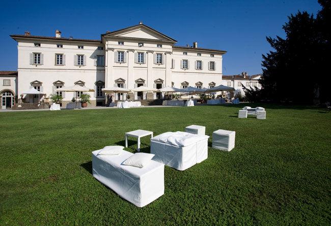 Il parco, villa Caroli Zanchi