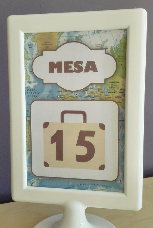 Mesero de Boda Temática: Viajes (travel)