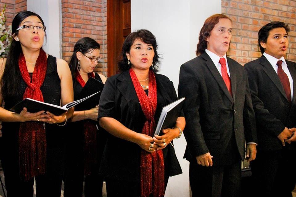 Gran elenco Coral, miembros Ilustres del Coro Nacional del Peru. www.corocanticumnovum.com