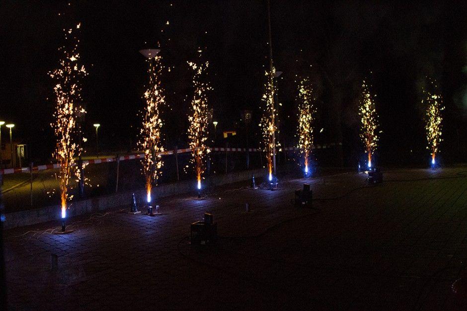 Beispiel: Feuerwerk, Foto: Wirtshaus am Rosengarten