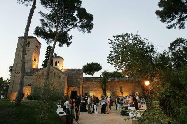Jardín Monasterio Románico