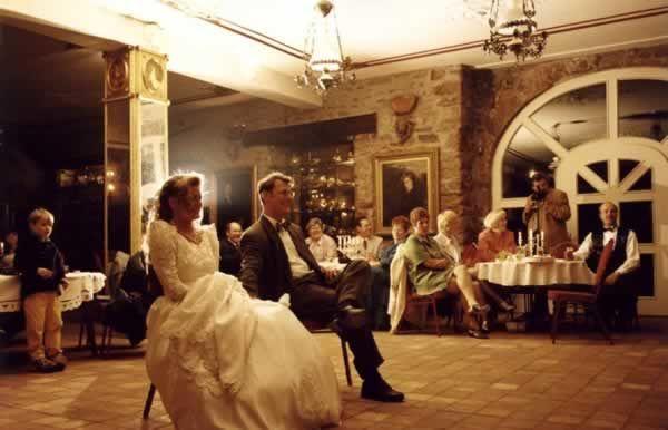 Beispiel: Hochzeitsgesellschaft, Foto: Rittergut Haus Laer.