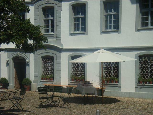 Beispiel: Terrasse, Foto: Alter Mühle Langenthal.