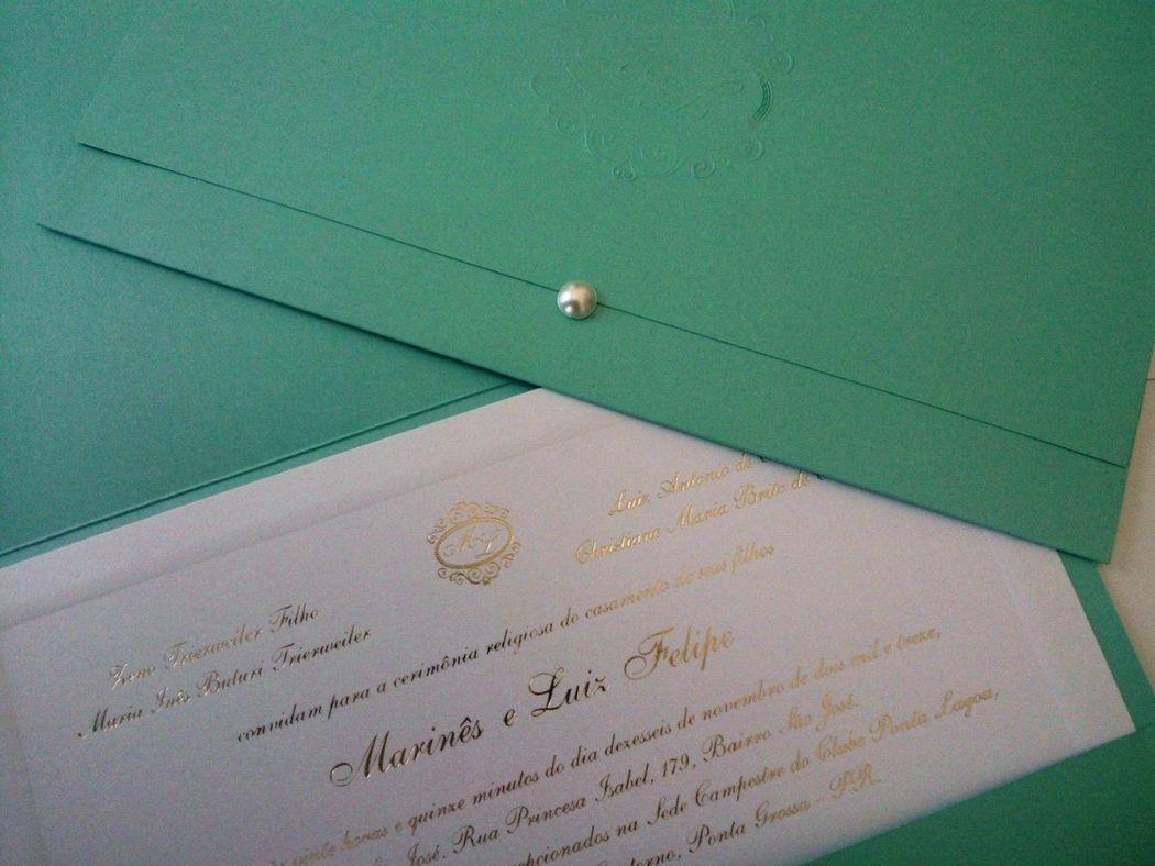 Um convite que é uma jóia. Homenagem da BEmyGUEST para recepcionar a queridinha Tiffany and co. em sua chegada a Curitiba